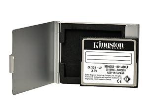 CF Card Set, 1GB, KINGSTON, inkl. Alutresor zur Aufbewahrung, 5 Jahre Umtausch-Garantie für die Karte