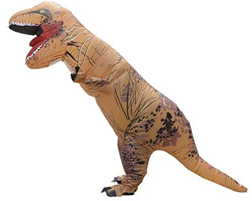 LaoZan T-Rex Costume gonfiabile Costume di Halloween per Adulti TRex