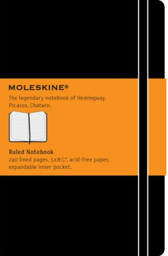 Moleskine Ruled Notebook Large