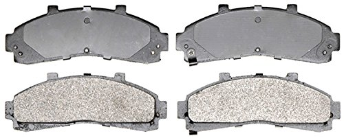 ACDelco 14D652M Advantage Semi-Metallic Front Disc Brake Pad Set with Wear Sensor (Ford Ranger Brakes compare prices)