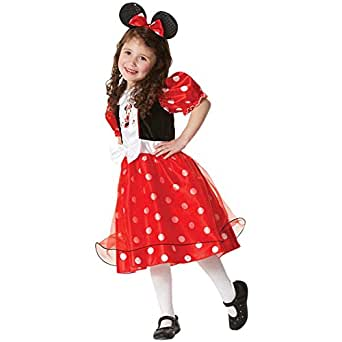 Le-super Halloween Xmas Cosplay Cutie Child Polka Mouse Girls Party Costume Tutu Dress