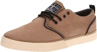 Quiksilver Men's Rf1 Low Premium Skate Shoe,Tan,6 M US