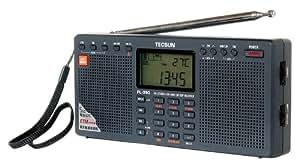 Tecsun PL390 DSP Digital AM/FM/LW Shortwave Radio with Dual Speakers, Black