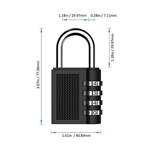 light duty hasps auto electrical wiring diagramtontec 2 pack combination lock 4 digit padlock for luggage locks school gym locker filing