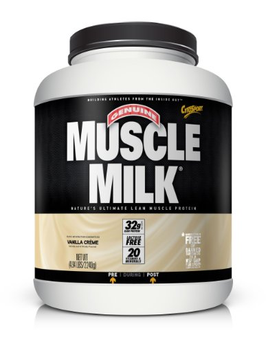 Christmas CytoSport Muscle Milk, Vanilla Creme, 4.94 Pound Container Deals