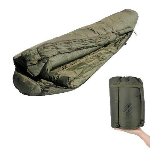 Snugpak Softie Elite 4 Olive RH Zip Sleeping Bag