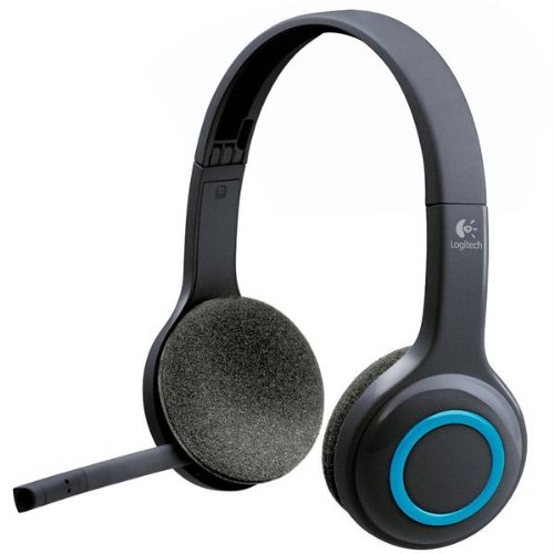 Headsets & Microphones-Logitech Wireless Headset H600 Over-The-Head Design