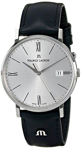 Maurice Lacroix da uomo in el1087-ss 001-110 Eliros analog display analogico al quarzo orologio da donna
