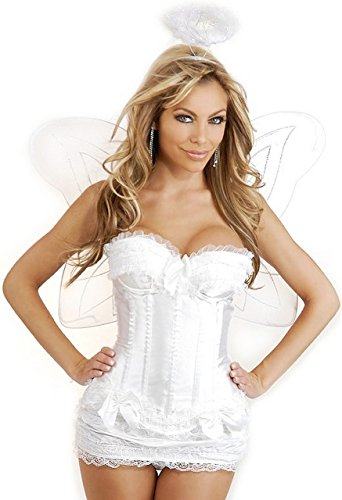 Daisy Corsets 4 PC Sexy Angel Women's Costume