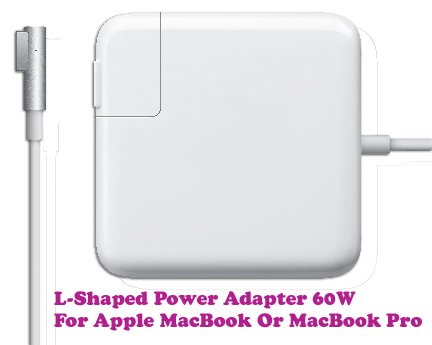 Gadget Hero's L Tip 60W 3.65A 16.5V Power Adapter Supply Charger For Apple MacBook Pro Generic