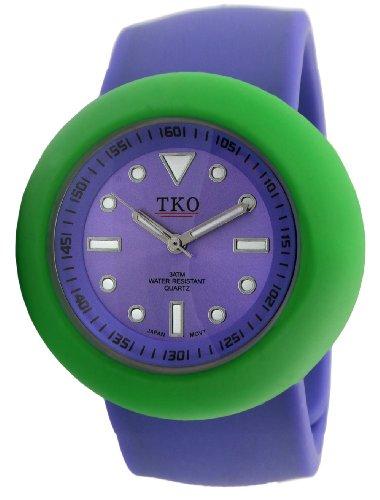 TKO ORLOGI Women's TK590-PGP Slappers Interchangable Set Purple