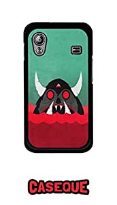 Caseque Devil Bull Back Shell Case Cover For Samsung Galaxy Ace