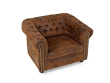 CHESTERFIELD Sessel Gobi braun
