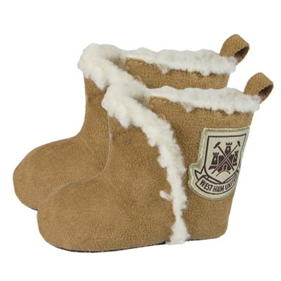 41nFDmgl sL Official West Ham United FC Baby Winter Booties (9/12 Months)   A Great Gift / Present For Babies, Toddlers For Christmas, Birthdays, Christenings Or Just As A Treat For Any Avid Football Fan