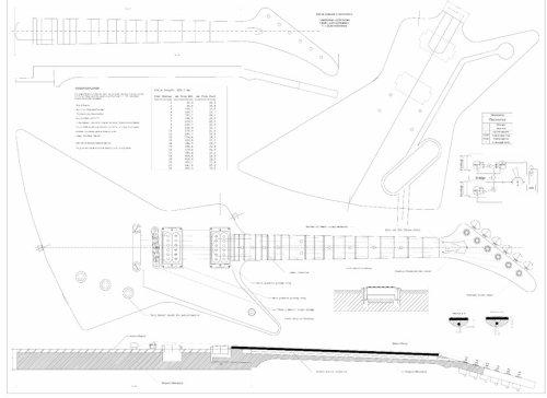 firebird guitar plans