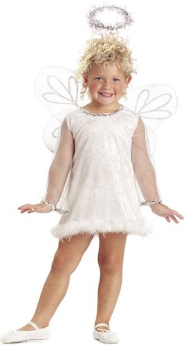 Child's Toddler Heavenly White Angel Costume (2-4T)