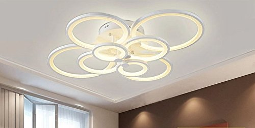 Gowe Luxus LED Abajur Kronleuchter Deckenleuchte Lustres Für Home Dekoration  Modern Creative LED Deckenleuchte Lampe Für Wohnzimmer ...