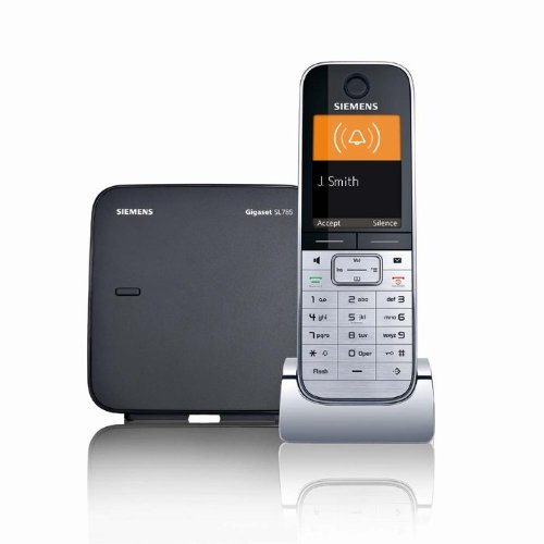 Deals siemens gigaset designer digital cordless phone with color display bluetooth connectivity - Designer cordless home phones ...
