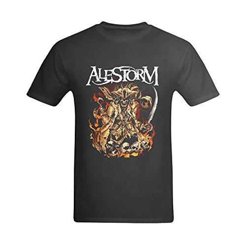 LittleArt Men's Alestorm Pirate T-Shirt XXLarge