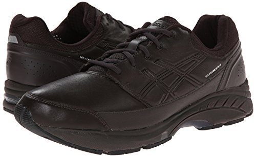 Asics Men S Gel Foundation Workplace Walking Shoe Black