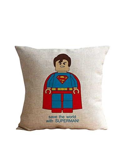 LO + DEMODA Funda De Cojín Lego Superman