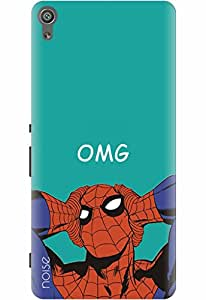Noise Designer Printed Case / Cover for Sony Xperia XA Dual / Comics & Cartoons / Superheroes Design