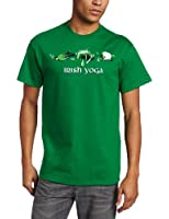 T-Line Men's Humor Irish Yoga T-Shirt