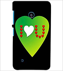 PrintDhaba Quote D-2869 Back Case Cover for NOKIA LUMIA 530 (Multi-Coloured)