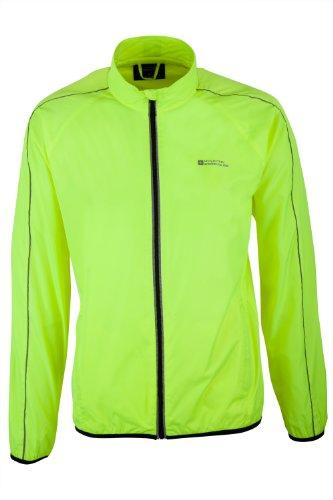 mountain-warehouse-force-mens-showerproof-reflective-cycling-running-jacket-yellow-large