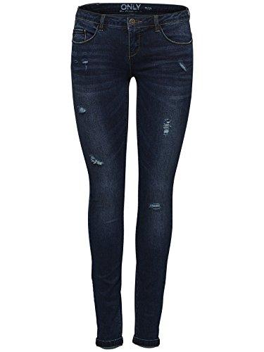 ONLY Onlcoral SL Sk Dnm Jeans BJ8076 Noos, Donna, Blu (Dark Blue Denim), W27/L32 (Taglia Produttore: 27)