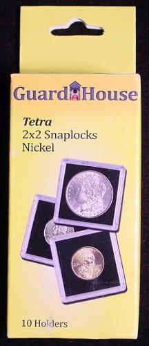 2x2 Nickel Tetra Snaplock - 10 per pack
