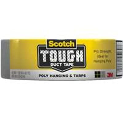 Scotch 75-2360A 60 Yards Scotch Tough Poly Hanging and Tarps Duct Tape