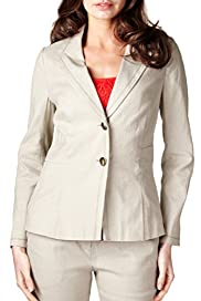 Per Una Lined Blend 2 Button Panelled Jacket [T62-0833I-S]