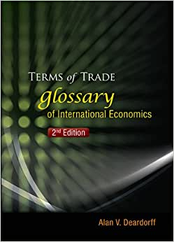 Terms Of Trade : Glossary Of International Economics