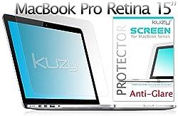 Kuzy - Anti-Glare Retina 15-inch Screen Protector Film for Apple MacBook Pro 15.4
