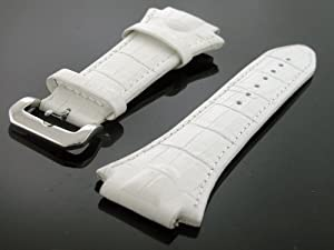 Aqua Master Techno 22mm Watch Band White