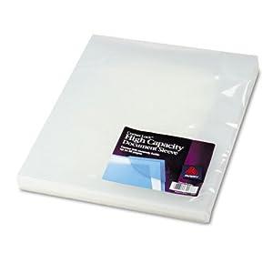 Avery Corner Lock High Capacity Document Sleeve, Clear, 3 Sleeves, Pack of 3 (72286)