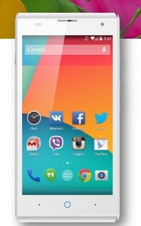 "ZTE Blade G Lux Unlocked GSM 4GB 4.5"" Cell Phone 8MP - White"