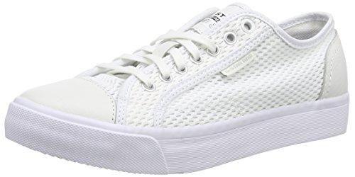 G-Star Raw - MAGG LO, Sneaker Donna, Bianco (Weiß (bright white 1322)), EU 38