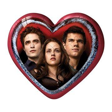 Twilight Saga: Eclipse Treasure Heart, 60 pc Bella, Jacob, Edward