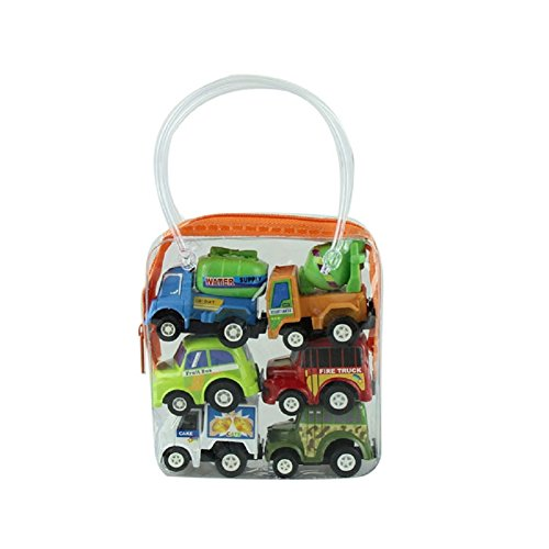 Toy Car, Misaky Multicolor Plastic Mini Pull Back Model Educational Toys (Garbage Robot compare prices)