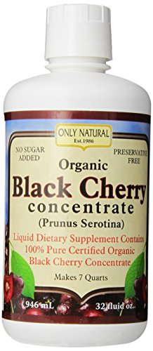 Only Natural Organic Blackcherry Concentrates, 32-Ounce (Dark Cherry Juice Concentrate compare prices)