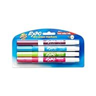 Expo 2 Low-Odor Dry Erase Markers, Fi…