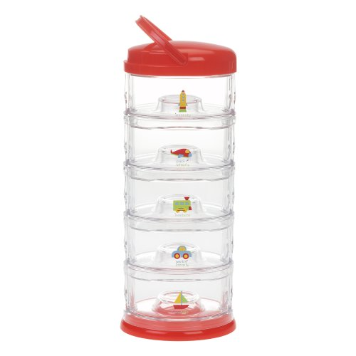 Innobaby Five Tier Packin' Smart Storage System, Red - 1