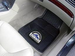 Exclusive By FANMATS MLB - Colorado Rockies Heavy Duty 2-Piece Vinyl Car Mats