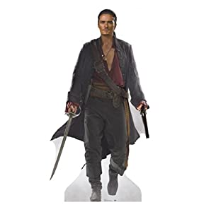 Will Turner - Disney's Pirates of the Caribbean - Advanced Graphics Life Size Cardboard Standup