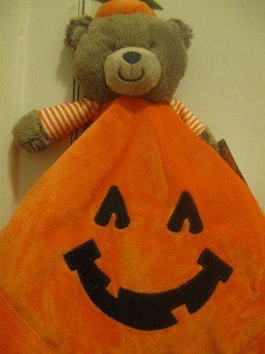 Carters Halloween Teddy Security Blanket