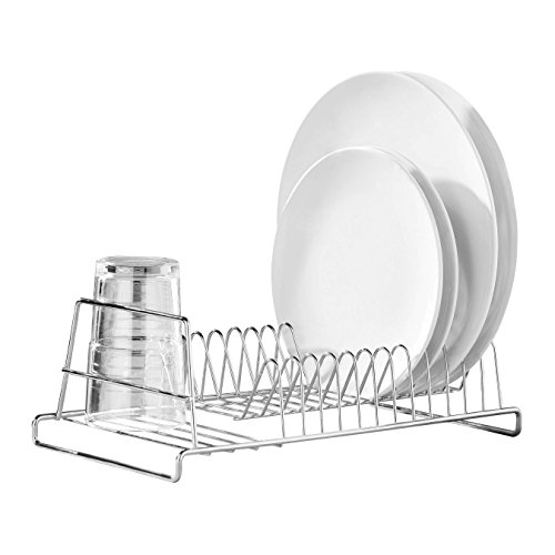 premier-housewares-12-plate-dish-drainer-chrome