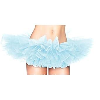 Hee Grand Femme Vives Dancer Burlesque Sept Gradins Tulle Costume de Ballet Tutu Jupe Bleu