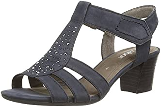 Gabor Shoes (25.871.16), Salomés Femme - Bleu (Nightblue), 38 EU